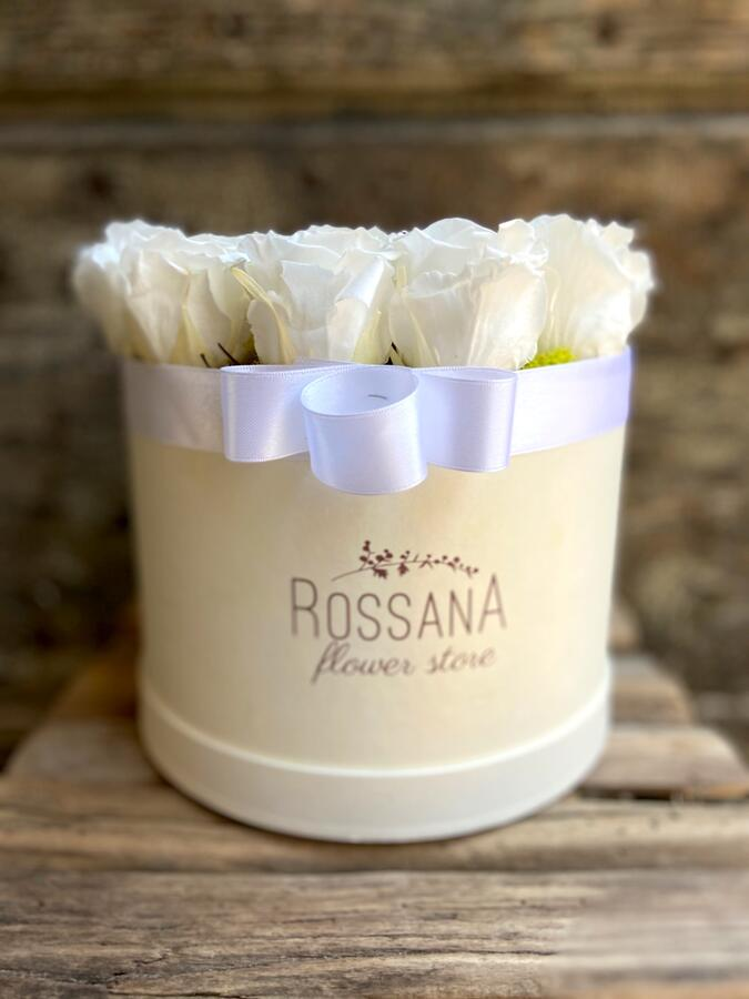 FLOWER BOX T18 Rossana Collection BIANCO