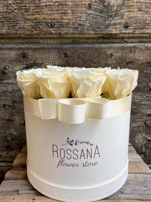 FLOWER BOX T18 Rossana Collection AVORIO