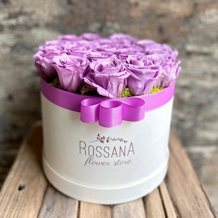 FLOWER BOX T18 Rossana Collection LILLA