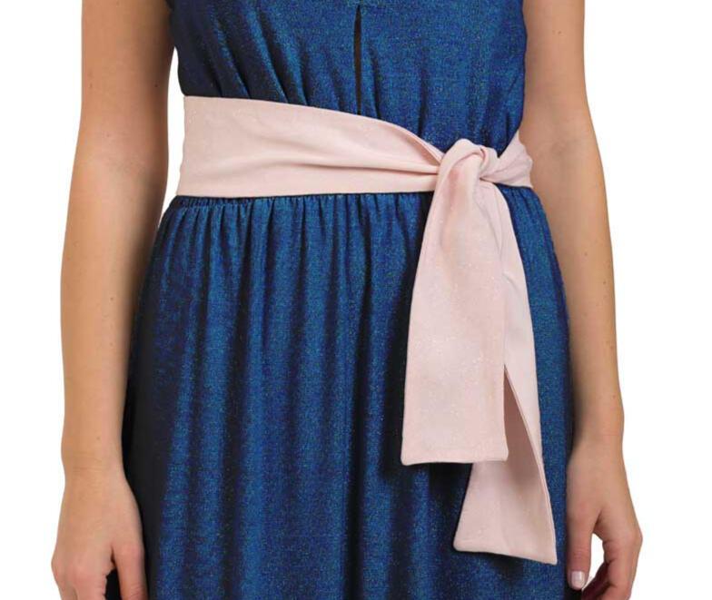 Cintura di tulle con brillantini - Sartoriale, fatta in Italia