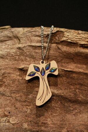 Ciondolo croce della vita