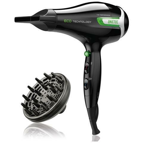 IMETEC ECO SE9 1000 Asciugacapelli Professionale Eco Technology Potenza 1400 W