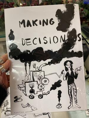 Martina Vanda - Stampa A4 - Making Decisions