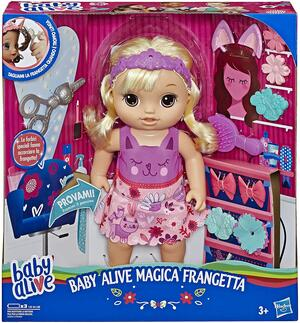 BABY ALIVE MAGICA FRANGETTA HASBRO