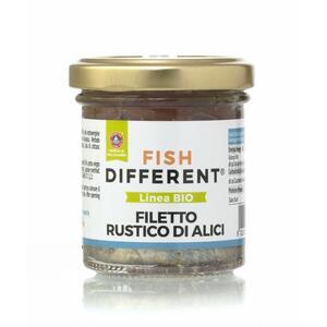 Filetto Rustico Di Alici Biologico,  Fish Different, 100 gr