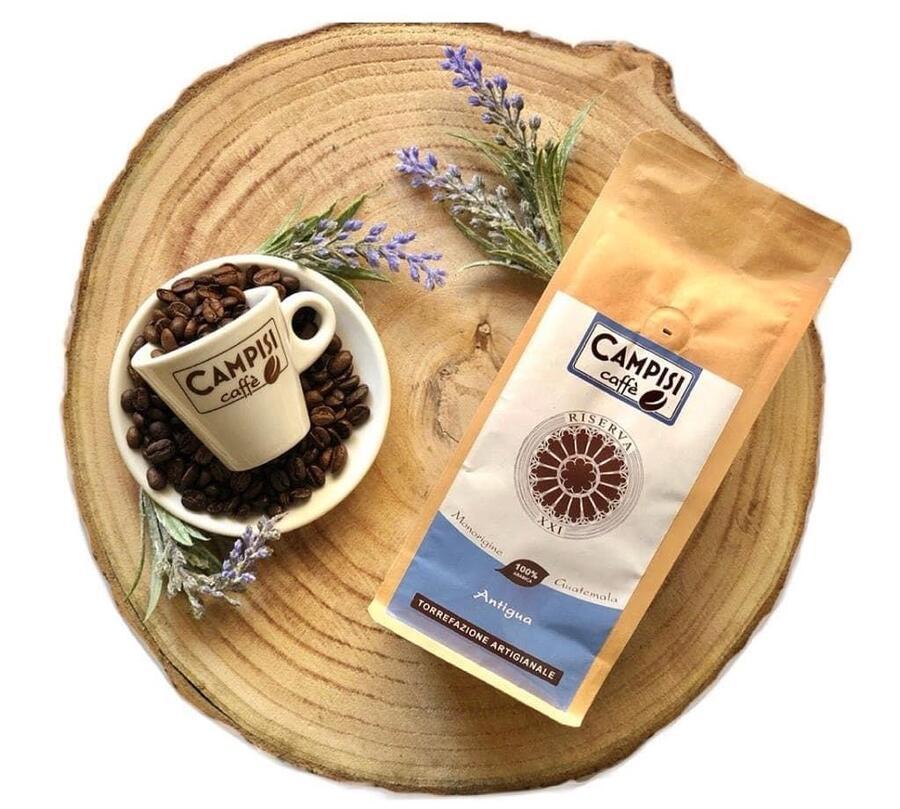 Caffé Antigua, Monorigine Arabica, Caffé Campisi, 250 gr