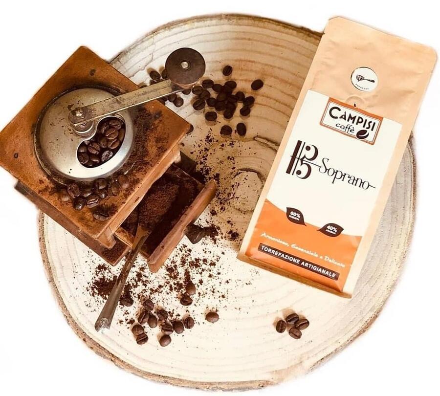 Caffé Soprano, Miscela cremosa, Caffé Campisi, 250 gr