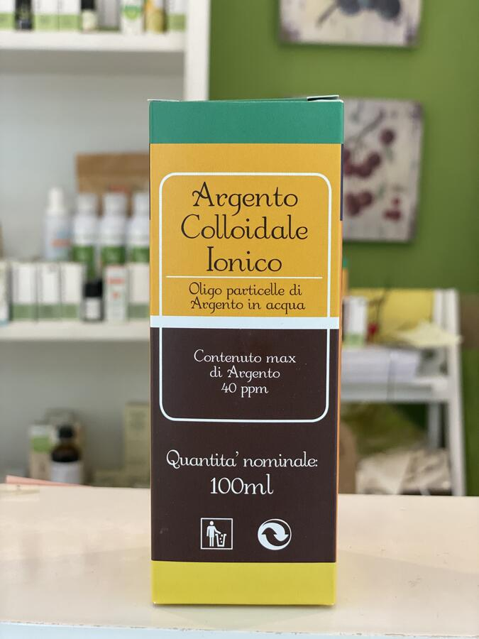 Argento colloidale 40 ppm alto dosaggio