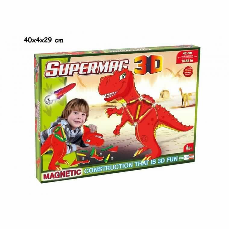 SUPERMAG 3D TYRANNOSAURUS