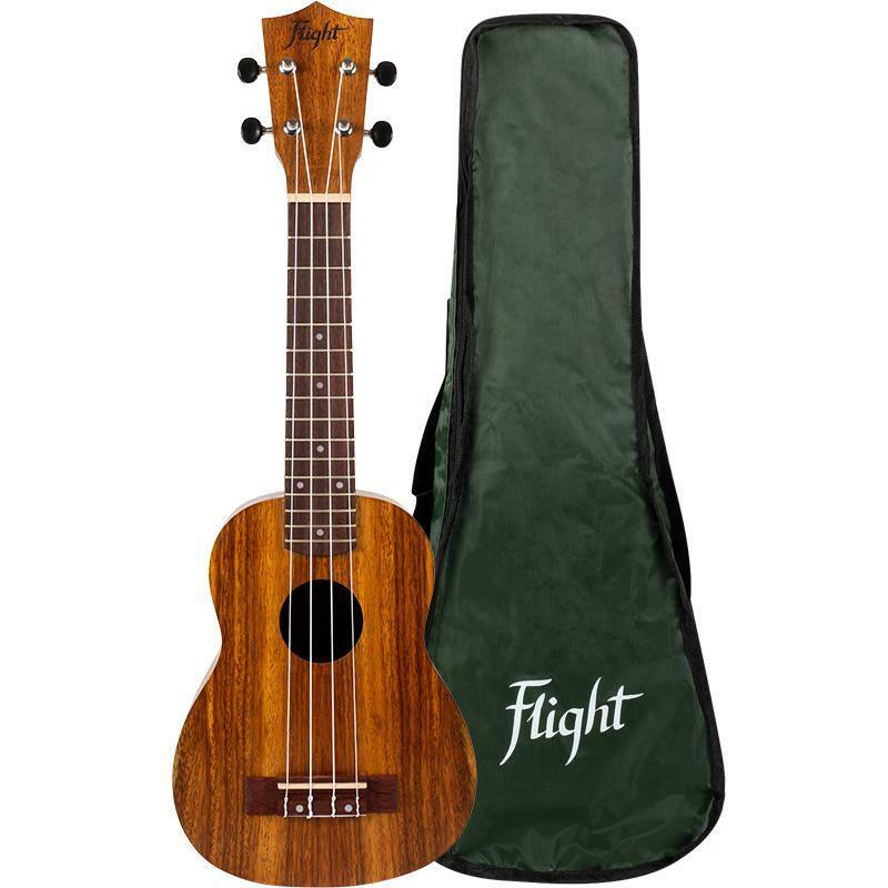Flight: NUS200 Soprano Ukulele - Teak