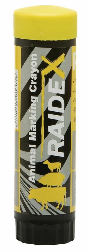 Stick per marcatura RAIDL GIALLO 60 grammi scatola 10 stick