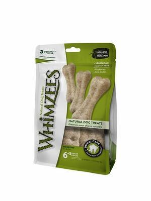 Whimzees L Snack Per Cani Vegetale Grain Free Osso Ossi Pulizia Denti 9 Pezzi