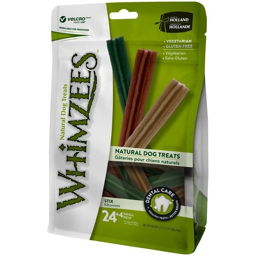 Whimzees S Snack Per Cani Vegetale Grain Free Dentastix Pulizia Denti 28 Pezzi