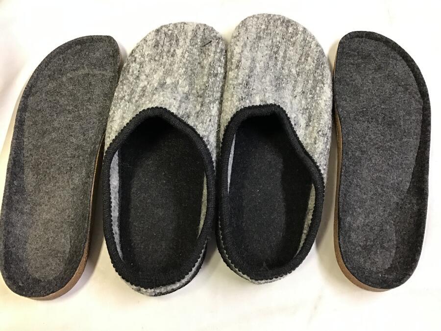 Pantofole Gray Melange