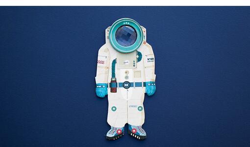 Caleidoscopio Astronauta Major Tom