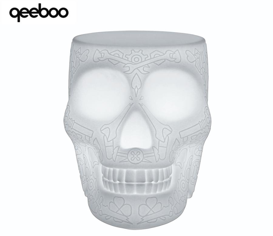 Servetto Mexico Stool and Sidetable con LED ricaricabile di Qeeboo - Offerta di Mondo Luce 24