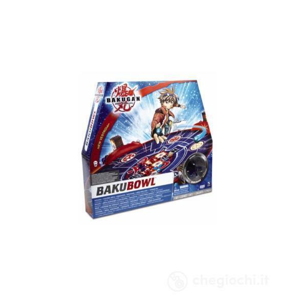 Bakugan Arena di gioco Bakubowl - Spin Master GPZ11853 - 5+ anni