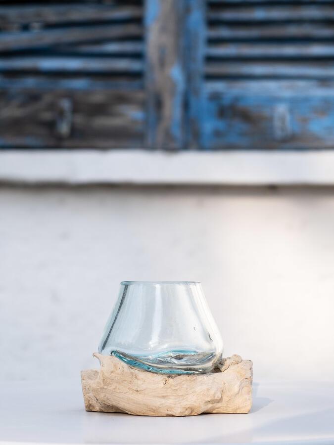 Acquario mini, oggetto di design per interno ed esterno