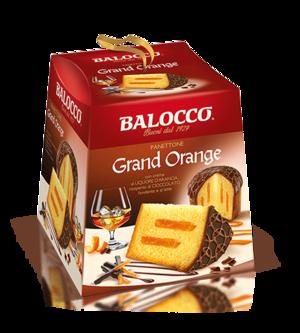 Panettone Grand Orange 800 gr Balocco