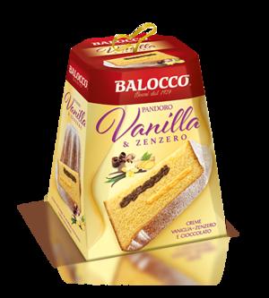 Pandoro Vaniglia e Zenzero 800 gr Balocco