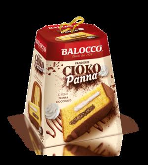Pandoro CiokoPanna 800 gr Balocco