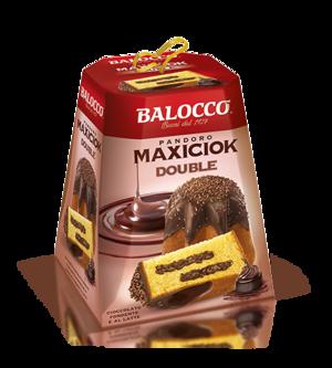 Pandoro Maxiciok Double 800 gr Balocco