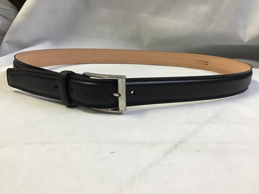 Cintura Pelle Nera 3cm
