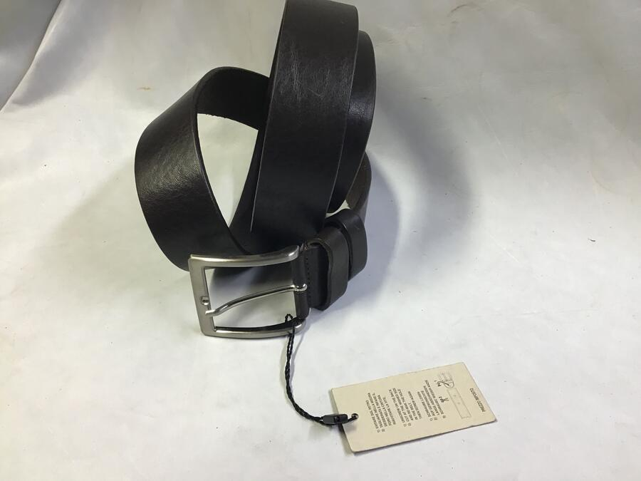Cintura Cuoio Nero 4cm