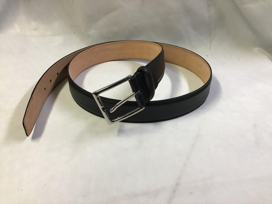 Cintura Pelle Nera 4cm