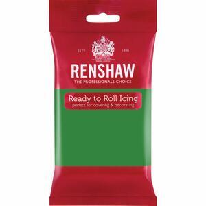 Pasta di zucchero Renshaw Pro verde natale 250 gr