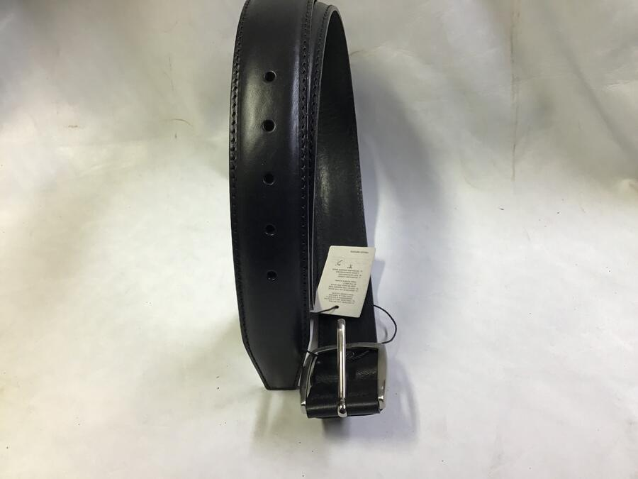 Cintura Doppio Groppone Nero 4cm