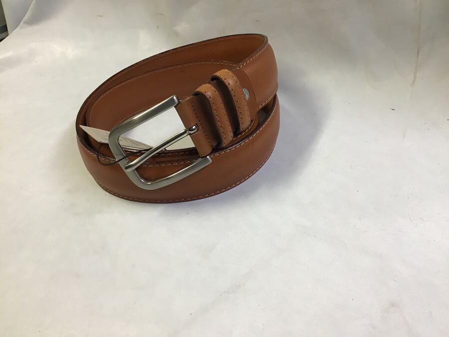 Cintura Doppio Groppone Miele 4cm