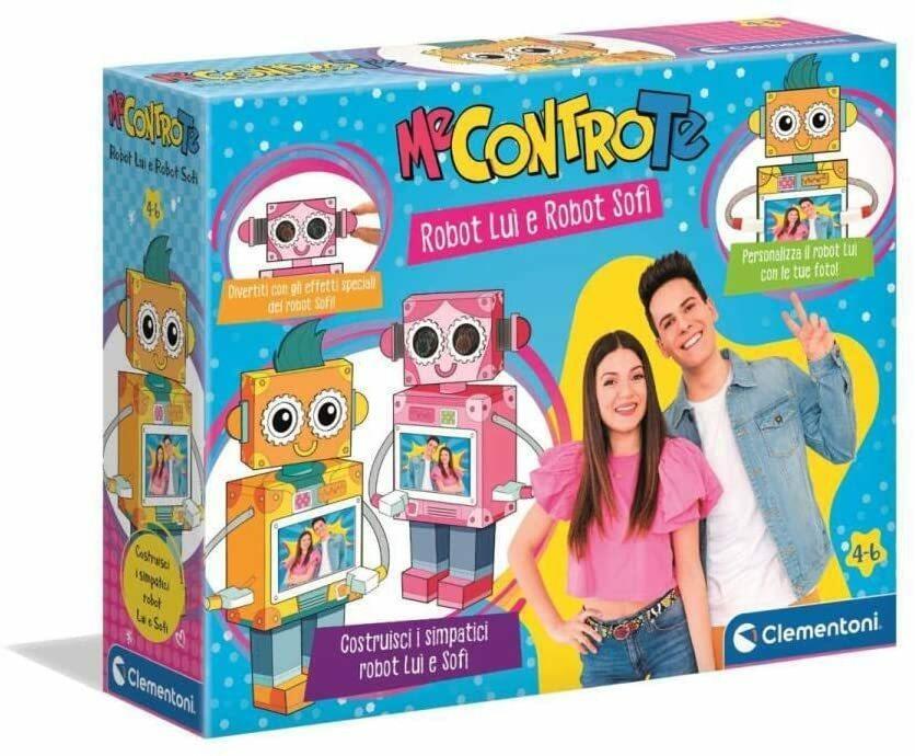 Me Contro Te - Robot Lui e Robot Sofì - Clementoni 18622 - 6+ anni