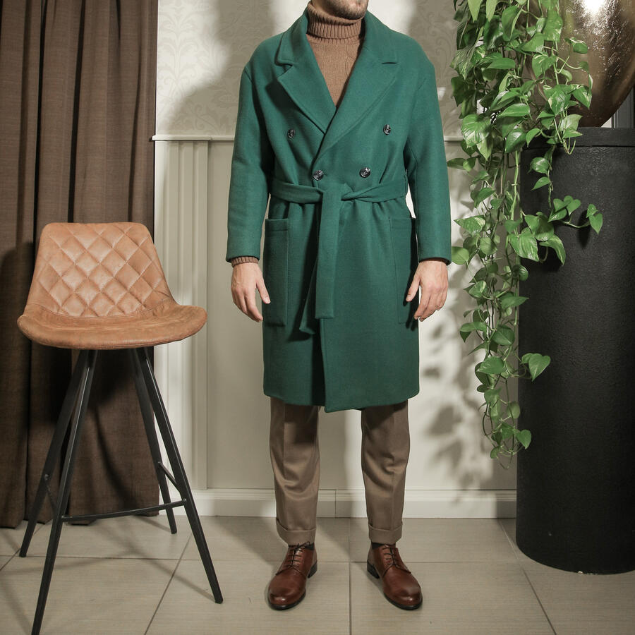Over - cappotto oversize verde