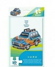 PUZZLE AUTOMOBILE BLU 3D BAGGY