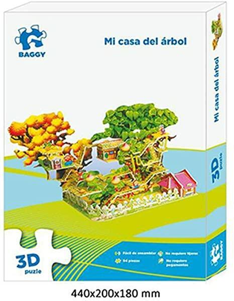 PUZZLE CASA SULL'ALBERO 3D BAGGY