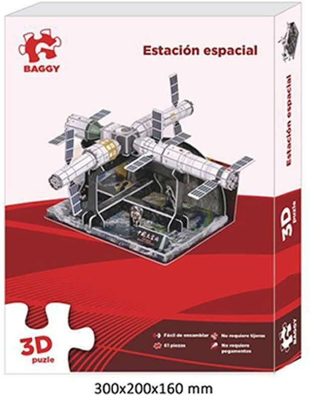 PUZZLE STAZIONE SPAZIALE 3D BAGGY
