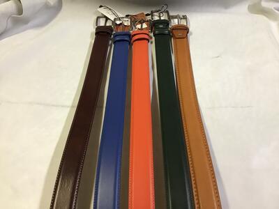 Cintura Pelle Colori 3,5cm
