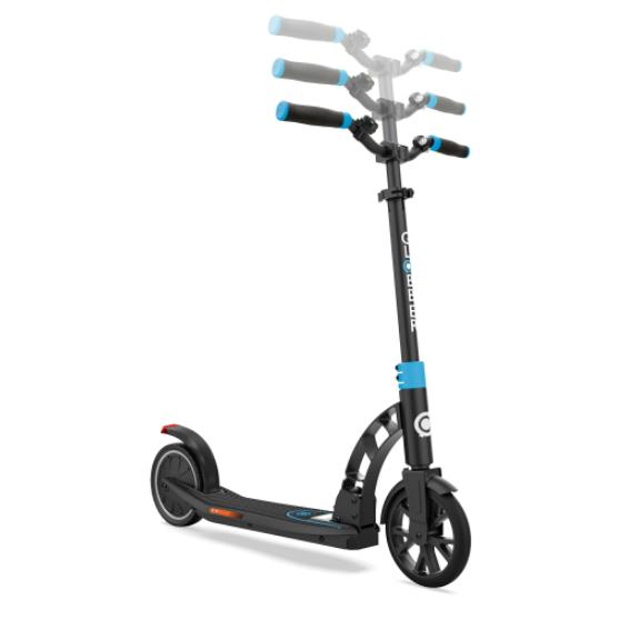 Monopattino Elettrico Pieghevole ONE K E-MOTION 15 Sky Blu di Globber con Sistema Doppio Freno Integrato