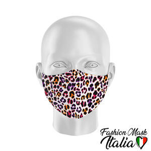 Fashion Mask Animalier Leopard Color
