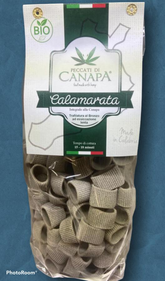 Calamarata, Pasta alla Canapa, Peccati di Canapa, 500 gr