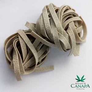 Tagliatelle, Pasta di Canapa,Peccati di Canapa, 500 gr;