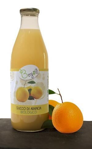 Succo di Arancia, 100% Arancia, Biologico, Bergold, 1lt