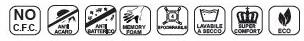 Materasso Memory Mod. Mediform Plus da Cm 140x190/195/200 Presidio Medico Altezza Cm. 22 - Ergorelax