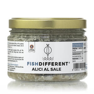 Alici al Sale,Fish Different, 500gr;