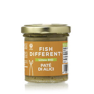 Patè Di Alici Biologico, Fish Different, 90 gr