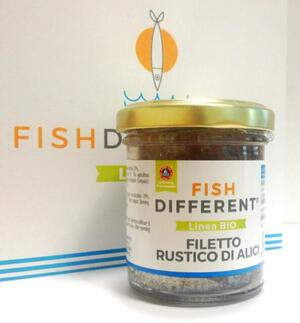 Filetto Rustico Di Alici Biologico,Fish Different, 100 gr;