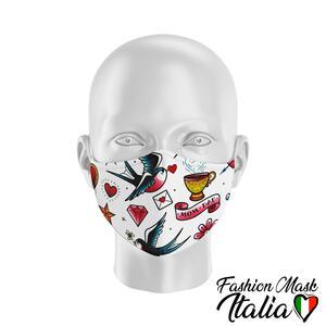 Fashion Mask Old School Tattoo