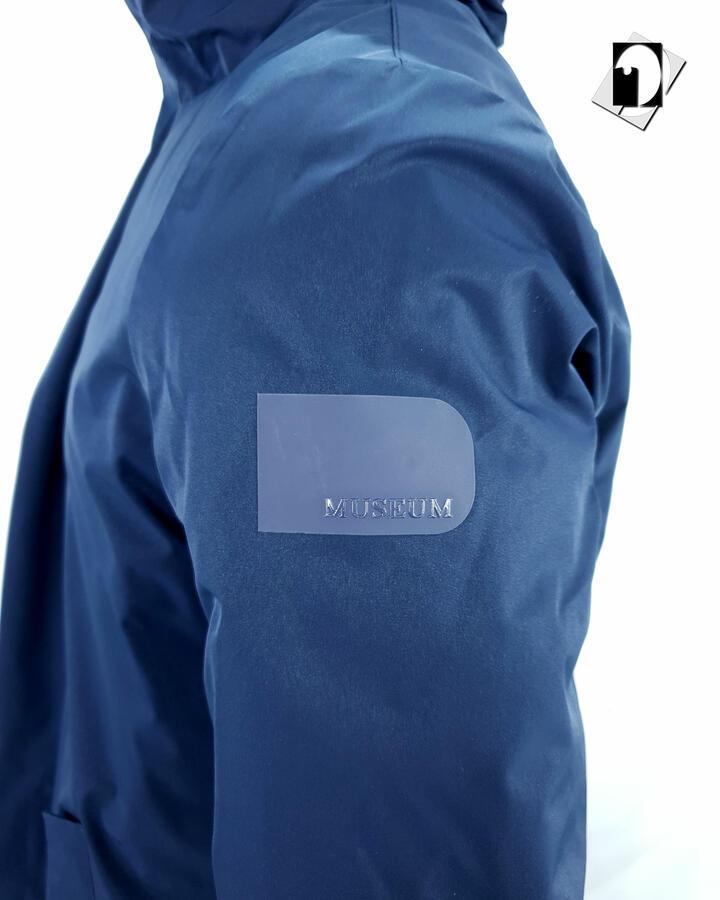 Museum Giaccone Piuma Oca Austen 72PL665 black o deep blue