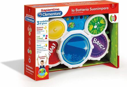 Sapientino - La Batteria Suonaimpara - Clementoni 12089 - 3+ anni